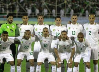 Algeria World Cup Squad 2014