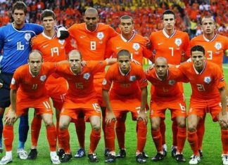Netherlands World Cup Squad 2014