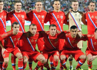 Russia World Cup Squad 2014