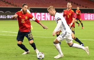 Germany Vs Spain Highlights 1 1 Video